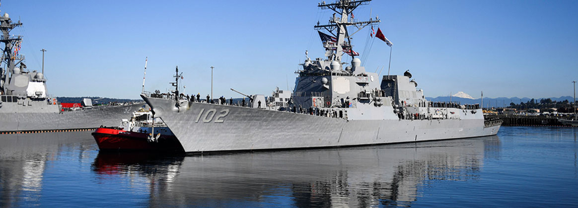 Uss Sampson Prepares For Deployment As Part Of The Theodore Roosevelt Carrier Strike Group