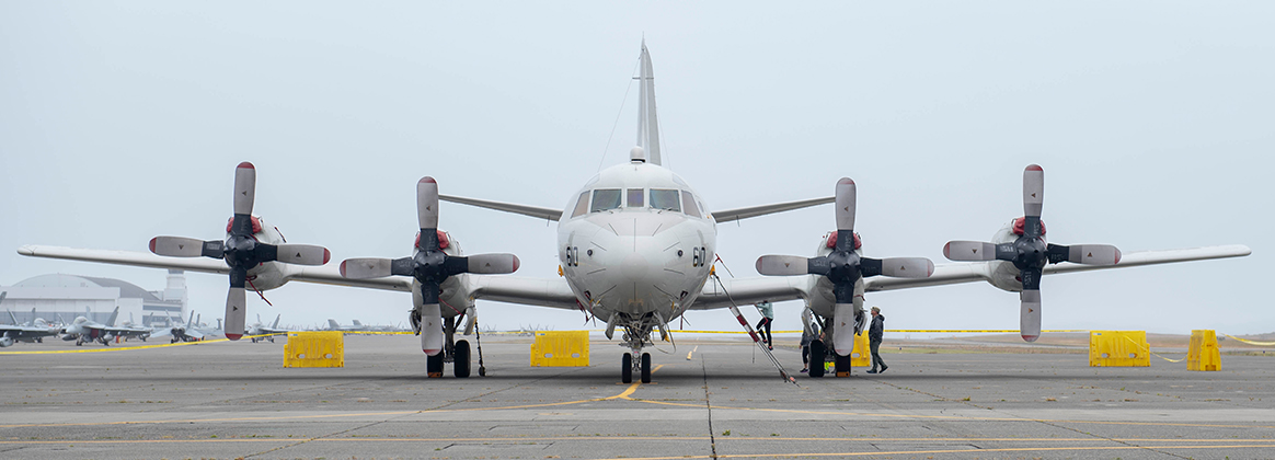 OAK HARBOR, Wash. (June 22, 2019) Visitors tour a P-3C Orion anti-submarine warfare patrol aircraft during the Naval Air Station (NAS) Whidbey Island Open House on Ault Field. The NAS Whidbey Island Open House grants an opportunity for the public to learn about past, current, and future operations at the Navy's only air station in the Pacific Northwest. 190622-N-HC646-0030