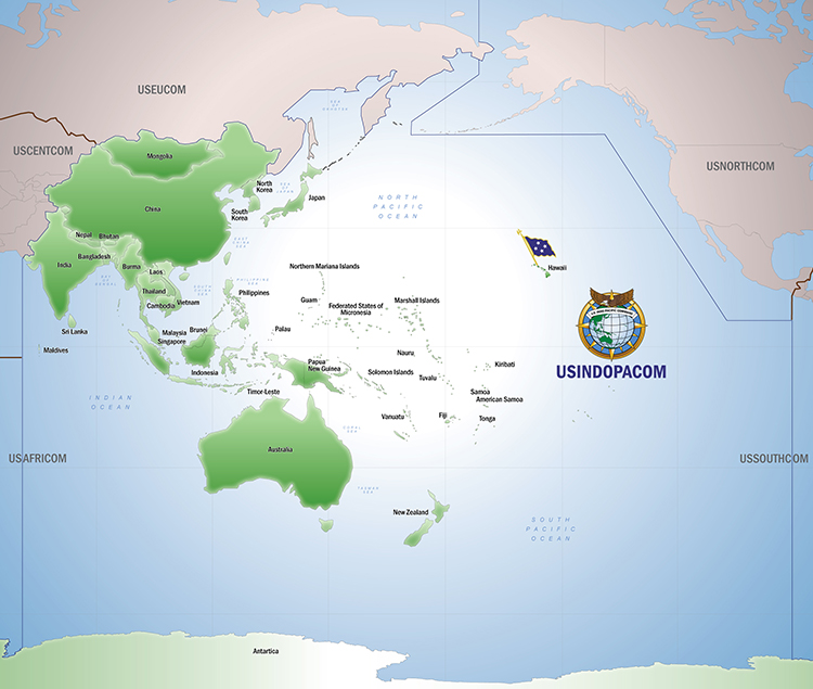 U.S. Indo-Pacific Command > About USINDOPACOM > USPACOM Area of ...